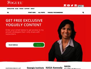 yoguely.com screenshot