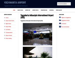 yogyakartaairport.com screenshot