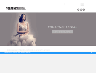 yohannesbridal.com screenshot