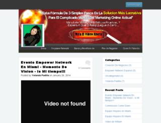 yolanda.empowernetwork.com screenshot
