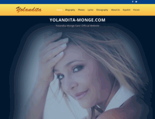yolandita-monge.com screenshot