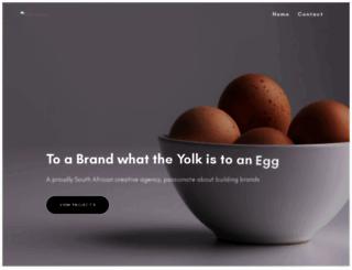 yolk-media.co.za screenshot