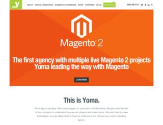 yoma.co.uk screenshot