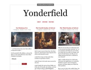 yonderfield.wordpress.com screenshot