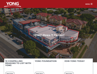 yong.com.au screenshot