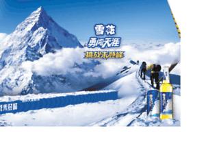 yongchuang.snowbeer.com.cn screenshot