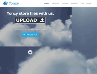 yonzy.com screenshot