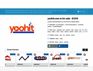 yoohit.com screenshot