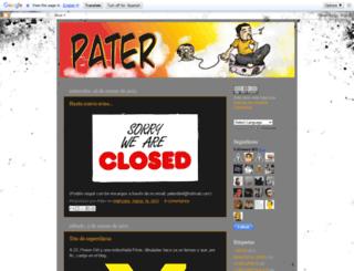yopater.blogspot.com screenshot