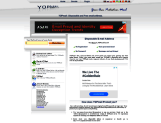 yopmail.net screenshot