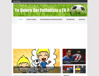 yoquieroserfutbolista.com screenshot