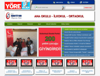 yorehaber.net screenshot