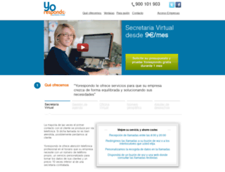 yorespondo.com screenshot
