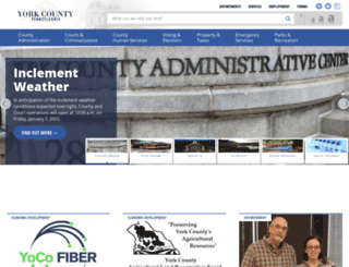 york-county.org screenshot
