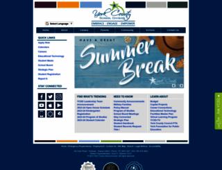 yorkcountyschools.org screenshot