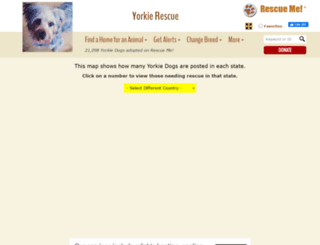 yorkie.rescueme.org screenshot
