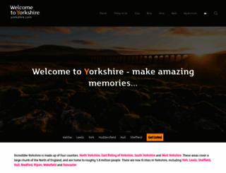 yorkshire.com screenshot