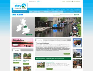 yorkshiredales-stay.co.uk screenshot