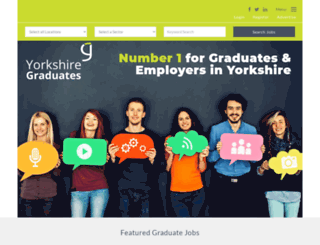 yorkshiregraduates.co.uk screenshot