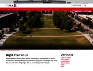 yorku.ca screenshot