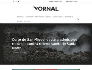 yornal.cl screenshot