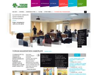 yorumakademi.com screenshot