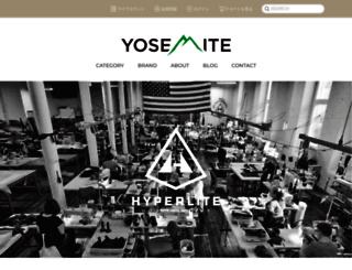 yosemite-store.com screenshot