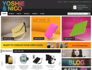 yoshieandnico.com screenshot
