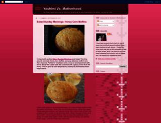 yoshimivsmotherhood.blogspot.com screenshot