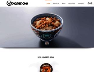 yoshinoya.com.sg screenshot