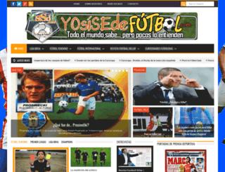 yosisedefutbol.com screenshot