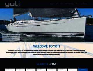 yoti.com.au screenshot