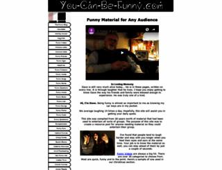 you-can-be-funny.com screenshot