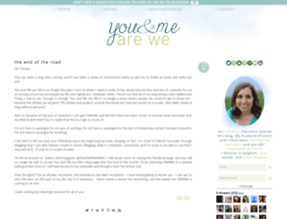 youandmearewe.blogspot.com screenshot