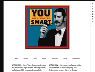 youarenotsosmart.com screenshot