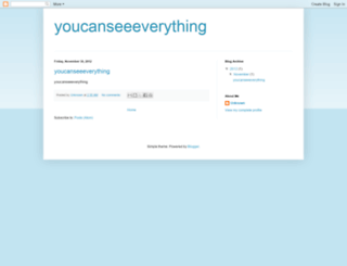 youcanseeeverything.blogspot.com screenshot