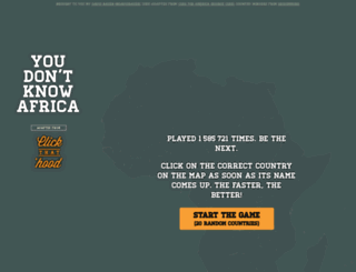 youdontknowafrica.com screenshot