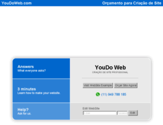 youdoweb.com screenshot