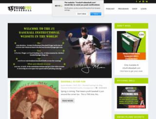 yougoprobaseball.com screenshot