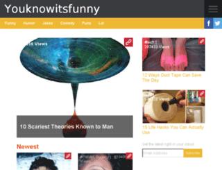 youknowitsfunny.com screenshot