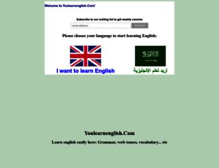youlearnenglish.com screenshot