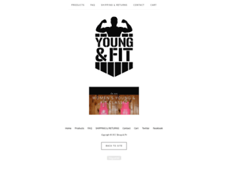 youngandfit.bigcartel.com screenshot