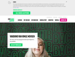 youngandunited.nl screenshot
