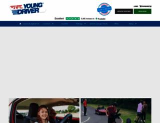 youngdriver.eu screenshot