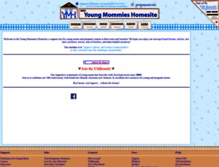 youngmommies.com screenshot
