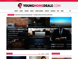 youngmomsdeals.com screenshot