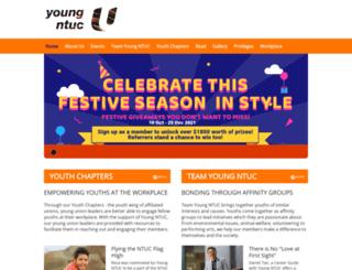 youngntuc.org.sg screenshot