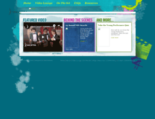 youngperformers.sagaftra.org screenshot