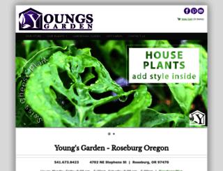 youngs-garden.com screenshot