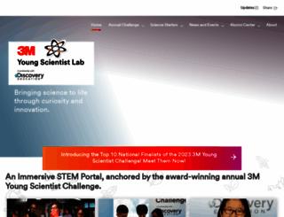 youngscientistchallenge.com screenshot